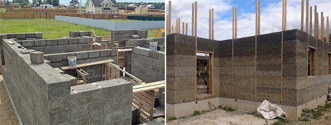 Построить дом из арболита довольно просто