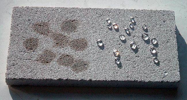 Влагостойкость бетона