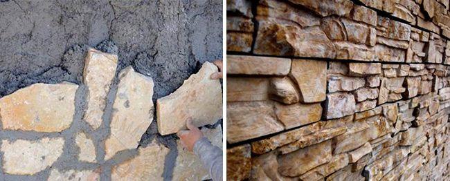 Стоит гармонично расположить камни по стене