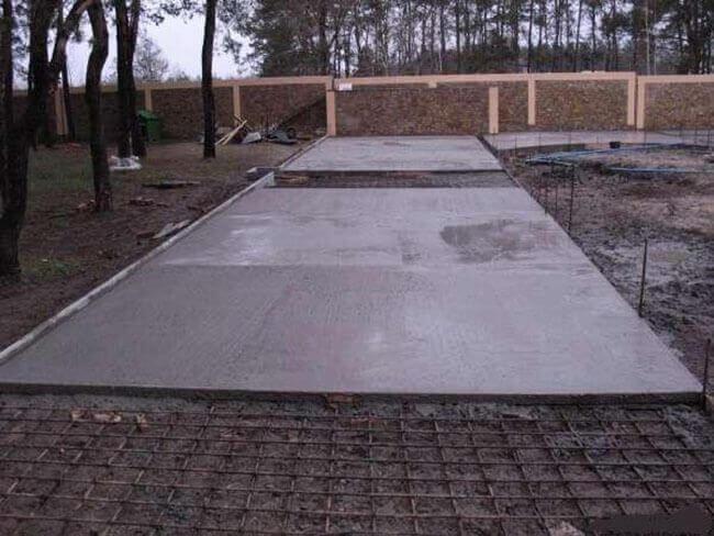 Тяжелый бетон используется для строительства дорог