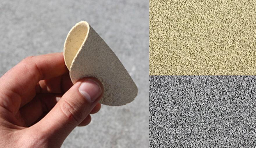 Эластичная силиконовая штукатурка слоем в два мм