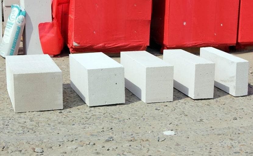 Толщины газобетонных блоков