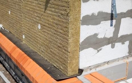 Толщина минеральной ваты для газобетонного дома