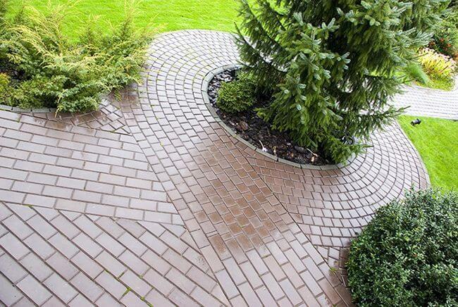 Тротуарная плитка сделает ваш участок неповторимым