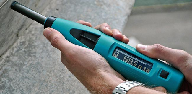 Измерение энергии удара