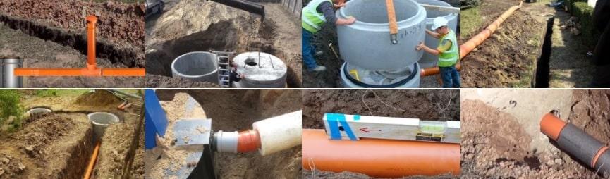 Устройство канализации в частном доме из газобетона