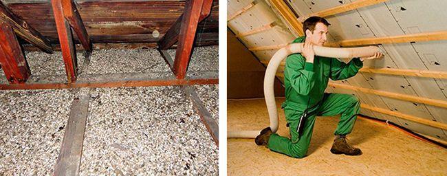 С помощью песка утепляем крышу или только чердачное перекрытие