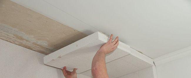 Для утепления потолка используются тонкие панели