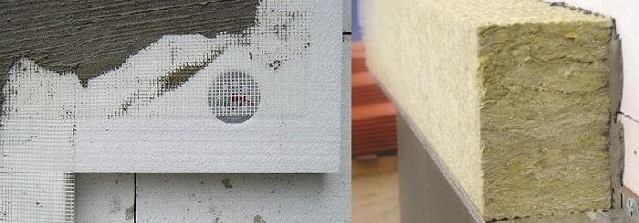 Сравнение цен на фасадные утеплители