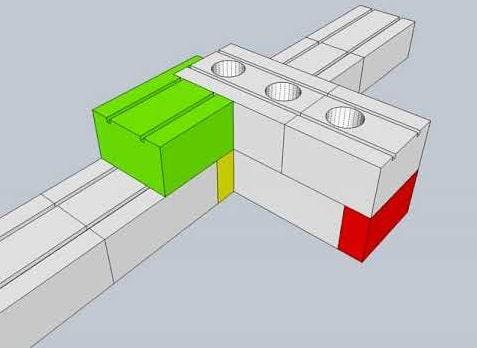 Как сделать вентканалы в газобетоне