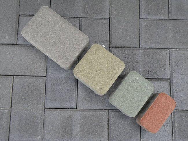 Тротуарная плитка для мощения дорожек