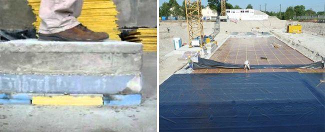 Виброизоляция для бетонного фундамента