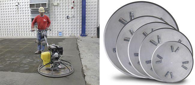 Заглаживающие диски для затирочных машин
